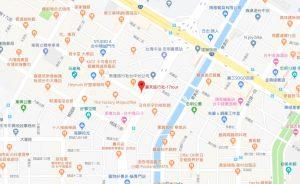 廣禾旅行社位置圖